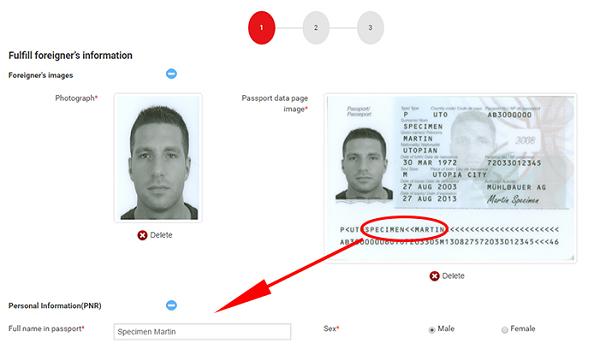 Các bước xin cấp thị thực điện tử dành cho người nước ngoài đang ở nước ngoài