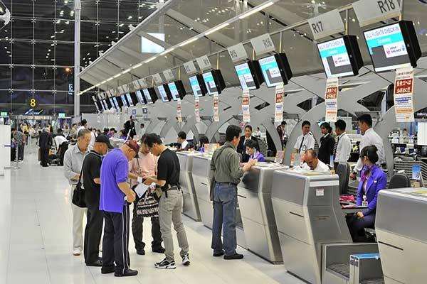 Một số lưu ý khi làm thủ tục bay tới Bangkok