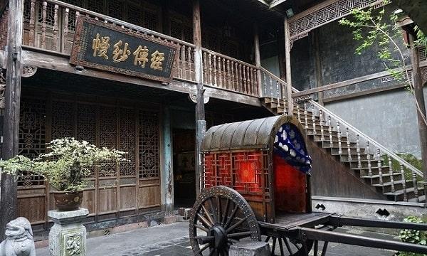 Du lịch Trung Quốc tham quan Cố cư Thẩm Tùng Văn