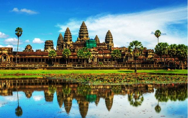 Vé máy bay đi Campuchia