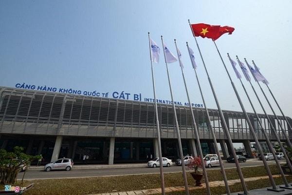 Thông tin sân bay tại Hải Phòng