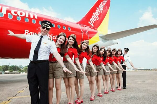Vé máy bay VietjetAir giá rẻ