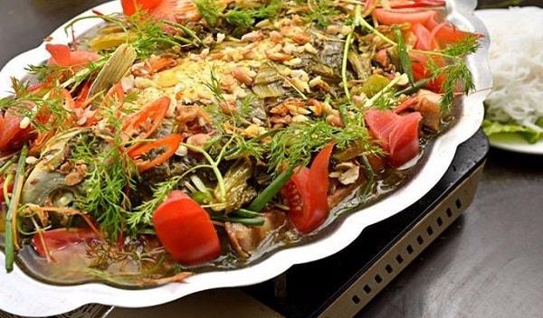 Đặt vé máy bay đi Rạch Giá - Kiên Giang ăn Cá hường om dưa chua
