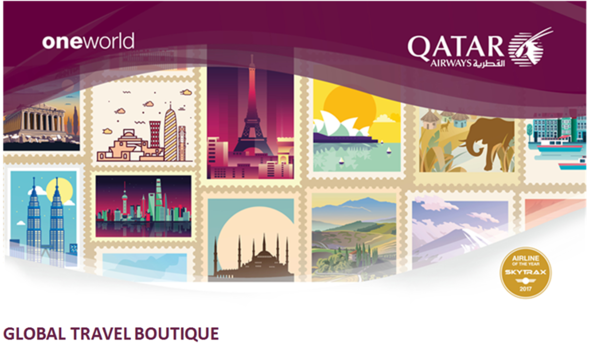 chuong trinh khuyen mai global travel boutique cua qatar airways - Top 5 Travel Affiliate Programs For Travel Bloggers in 2019